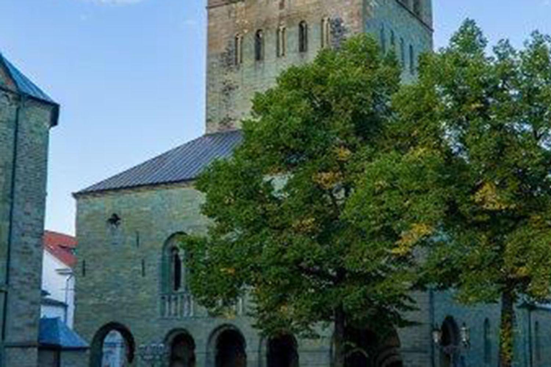 Die Außenansicht des Patrokli Dom in Soest