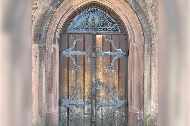 Eingang der St. Marien Pfarrkirche