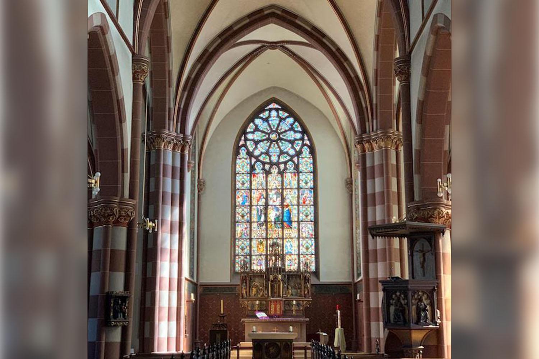 Innenansicht der St. Marien Pfarrkirche