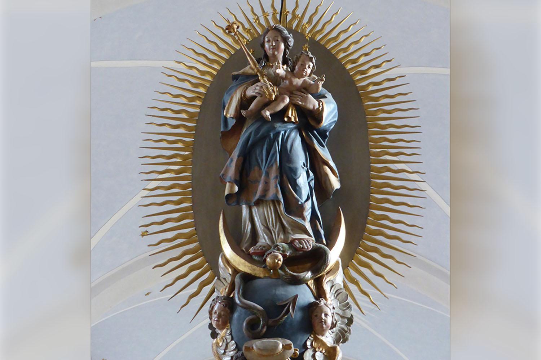 Heilige Maria der St. Pankratius Kirche Körbecke