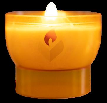 Eine Velight Kerze